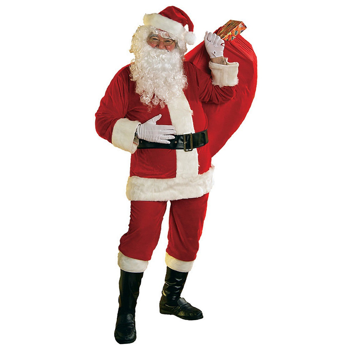 Rubie's Costume Co Soft Velour Santa Suit Adult Mens Claus Christmas Costume at Sears.com