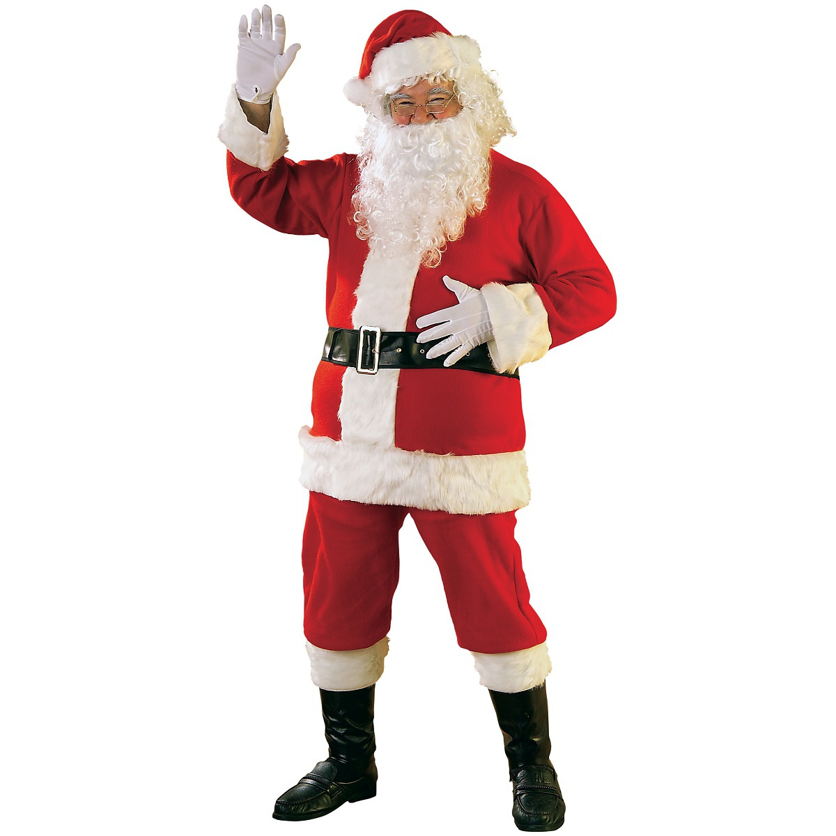 Rubie's Costume Co Flannel Santa Suit Adult Mens Lightweight Economy Claus Christmas Costume at Sears.com