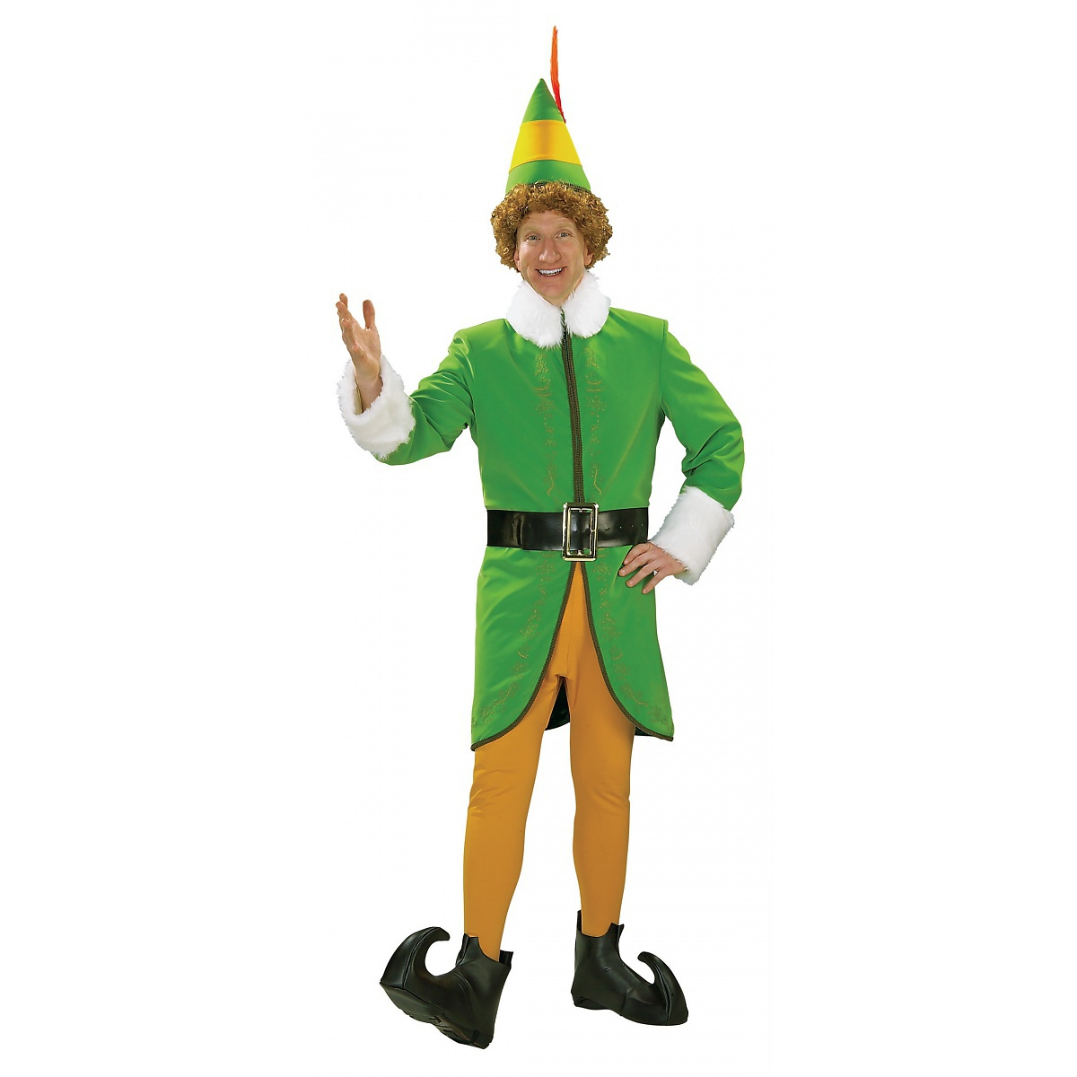 Rubie's Costume Co Deluxe Buddy the Elf Adult Mens Santa Claus Helper Christmas Costume at Sears.com
