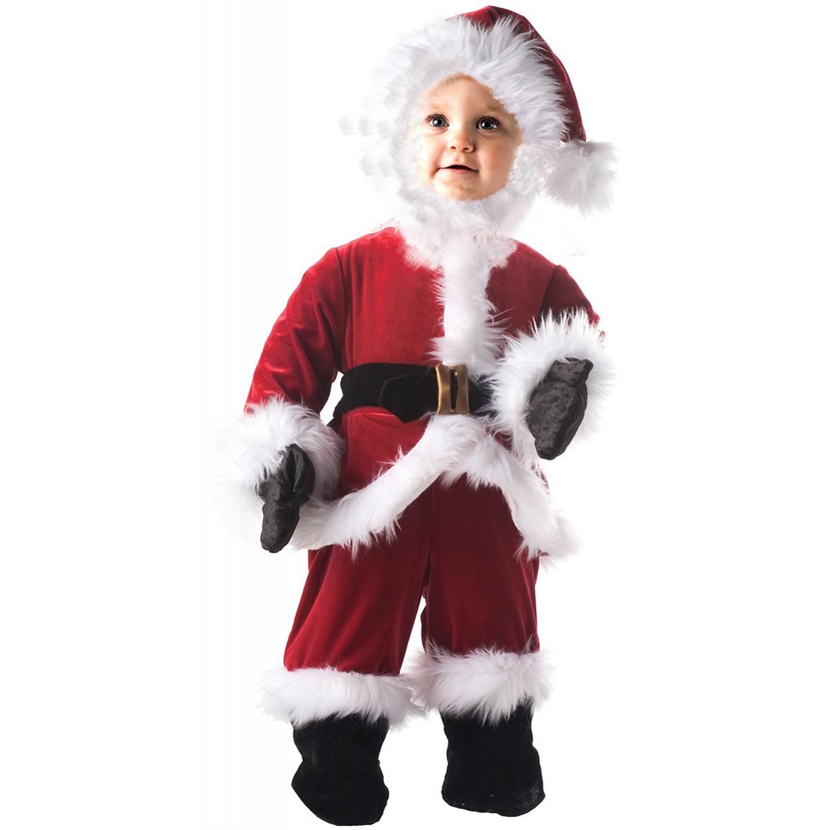 underwraps baby santa outfit infanttoddlerkids christmas costume fancy dress