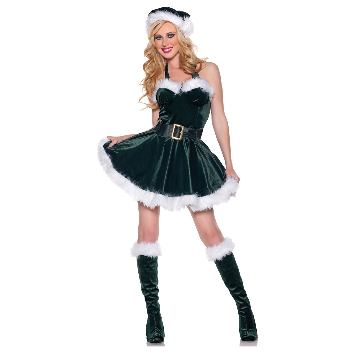 UNDERWRAPS Stocking Stuffer Santa Claus's Helper Elf Adult Sexy Dress Christmas Costume at Sears.com