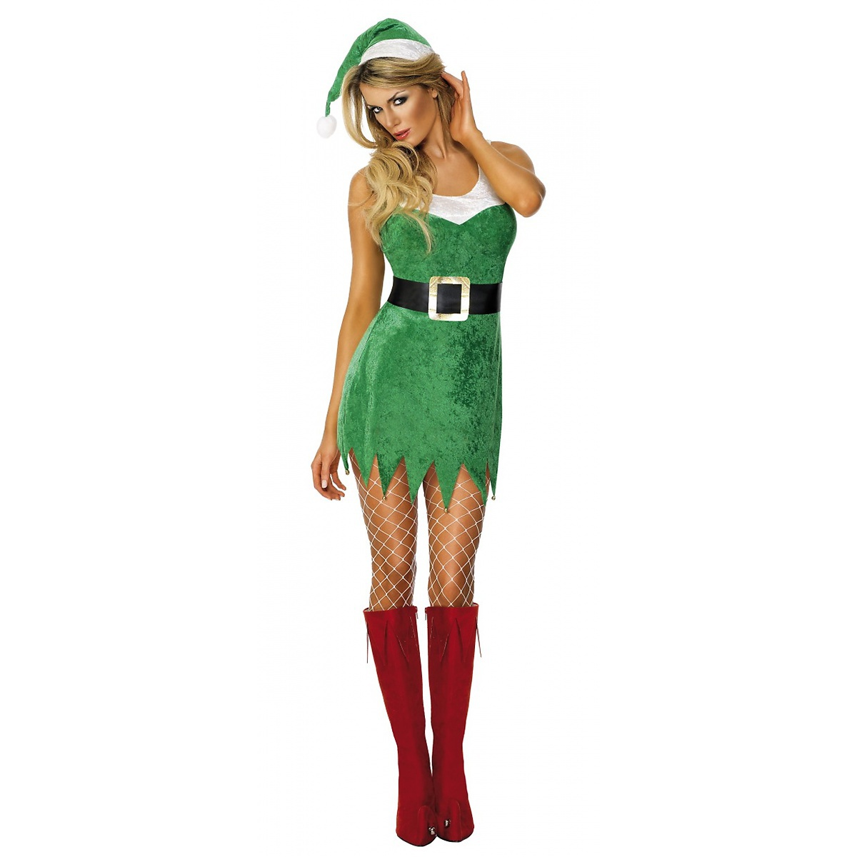 Smiffys Santa's Sexy Little Helper Claus Elf Adult Womens Fancy Dress Christmas Costume at Sears.com