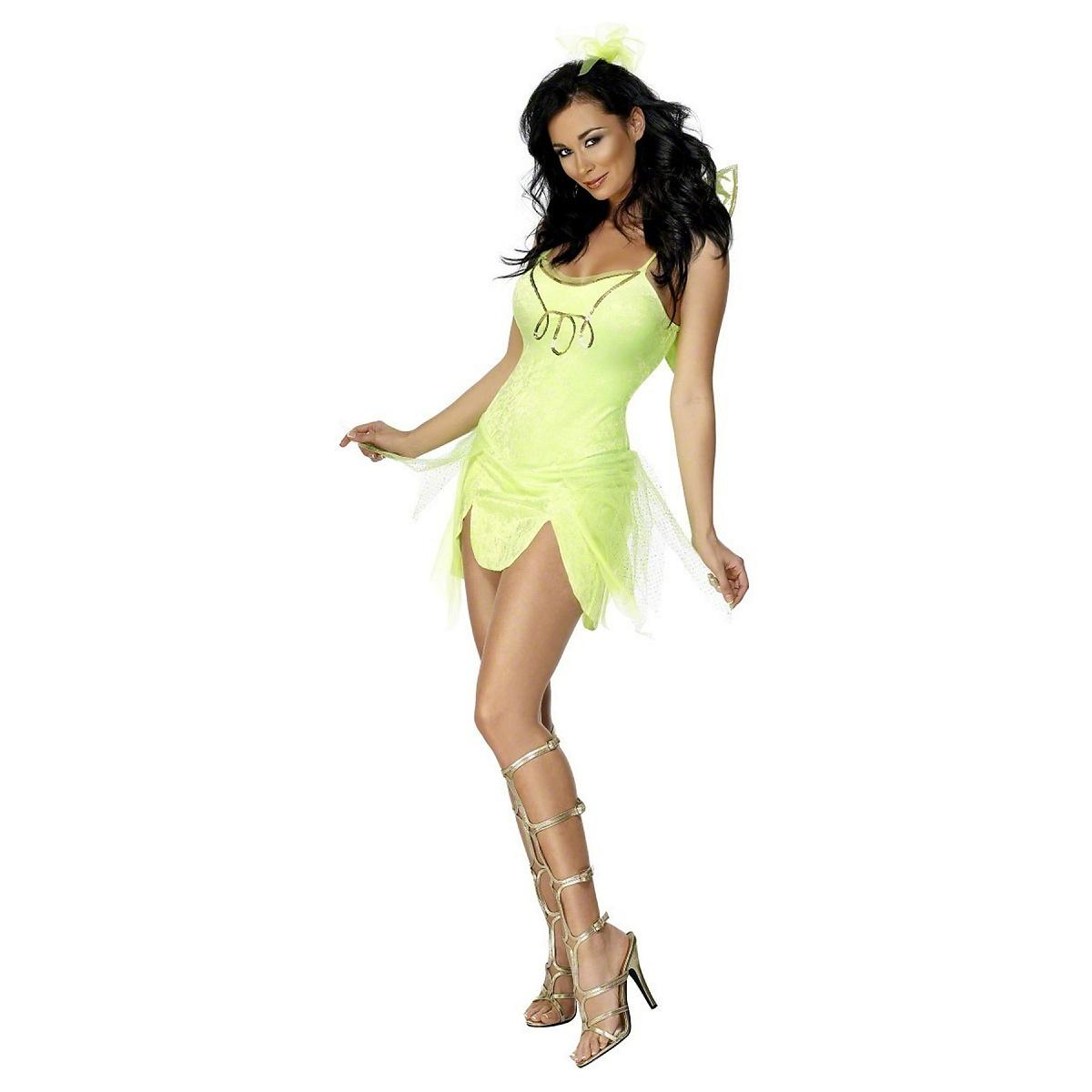 Smiffys Mystical Fairy Costume Womens Tinkerbell Pixie Peter Pan Halloween Fancy Dress at Sears.com