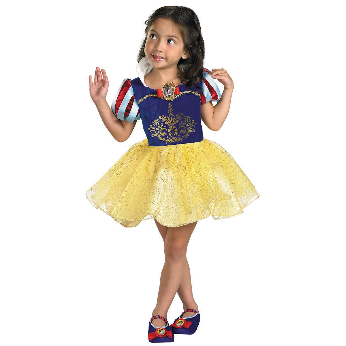 Disguise Snow White Costume Toddler Kids Disney Princess Outfit Halloween Fancy Dress