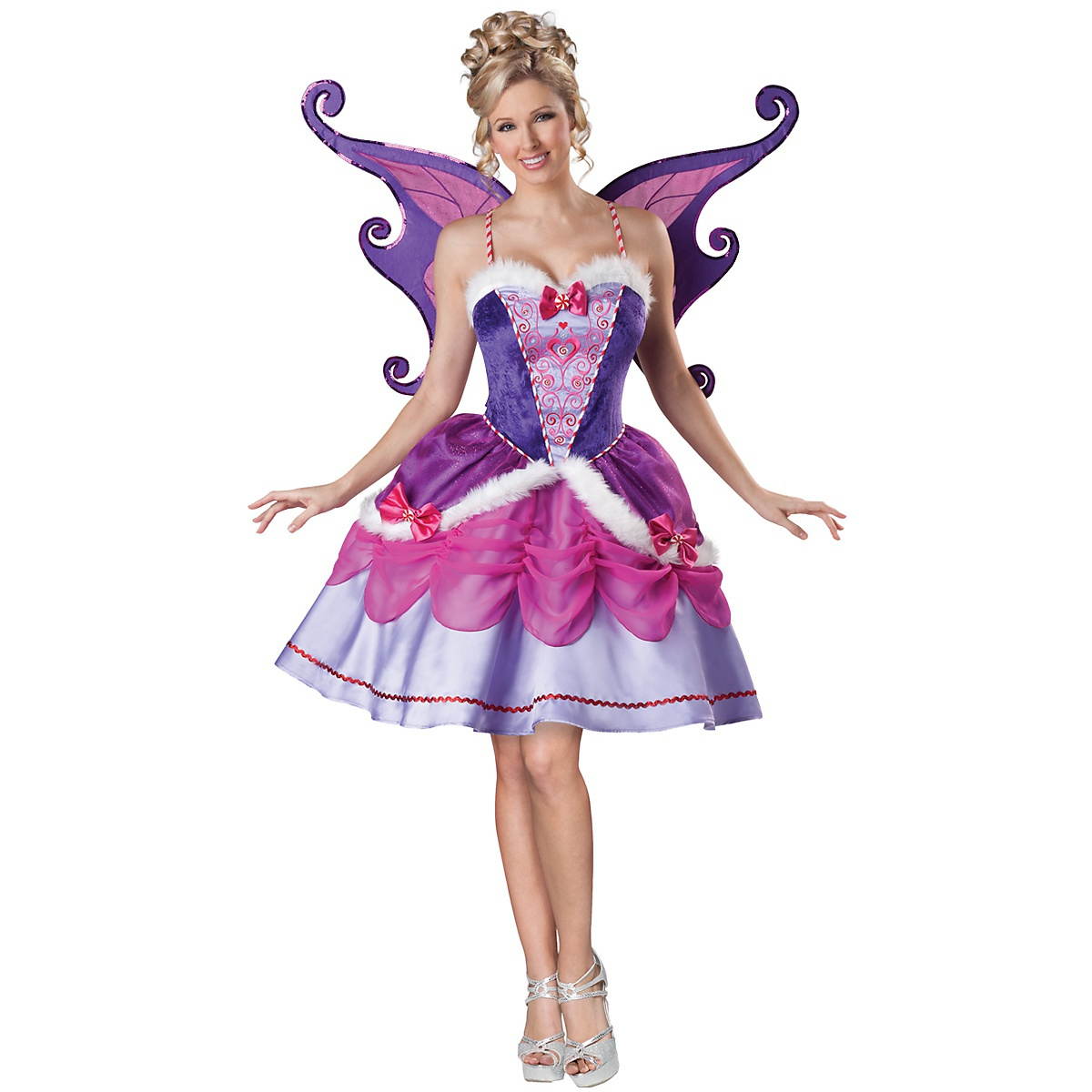 InCharacter Sugar Plum Fairy Costume Adult Santa Claus Helper Christmas Fancy Dress at Sears.com