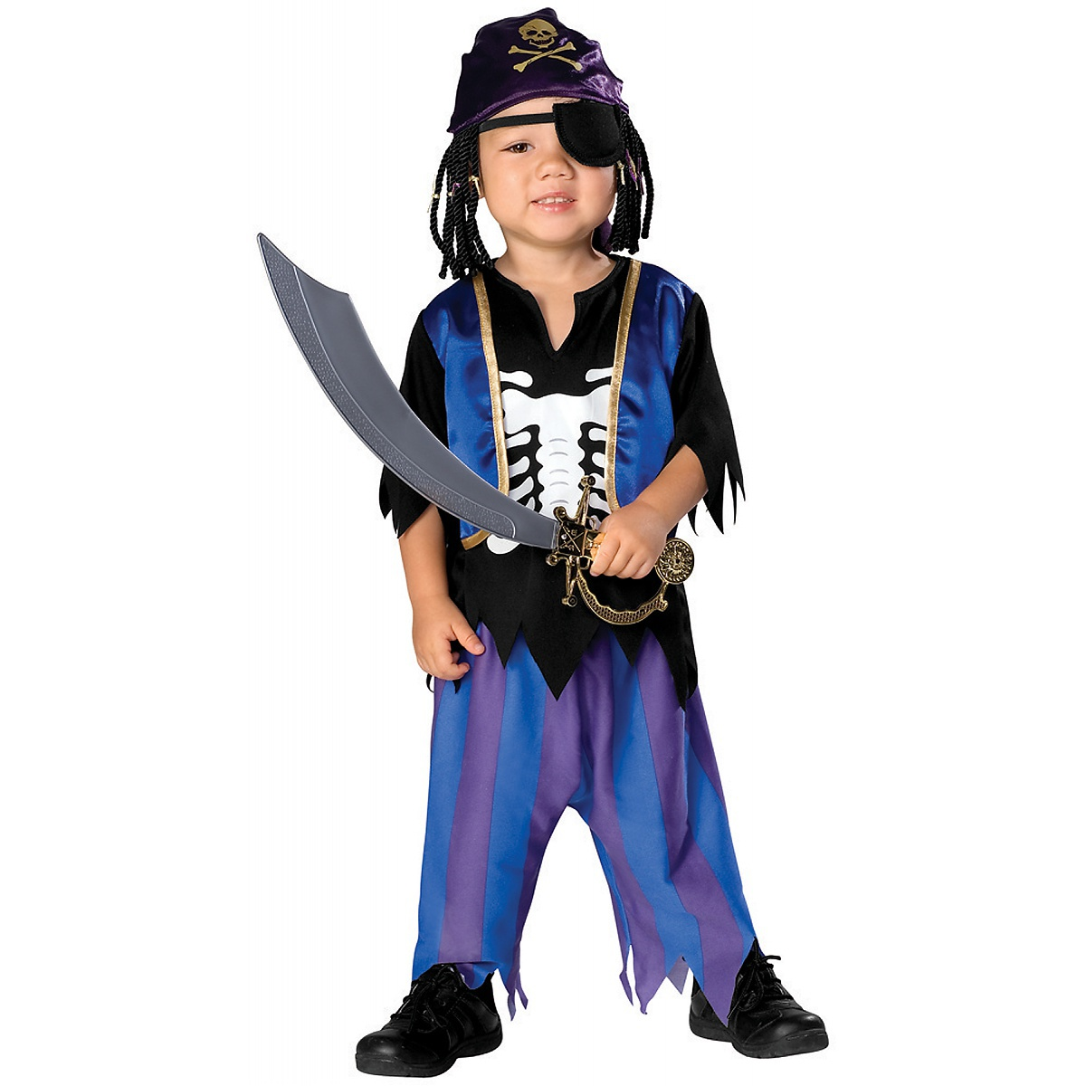 Rubie's Costume Co Skeleton Pirate Toddler Boys Matey Halloween Costume at Sears.com