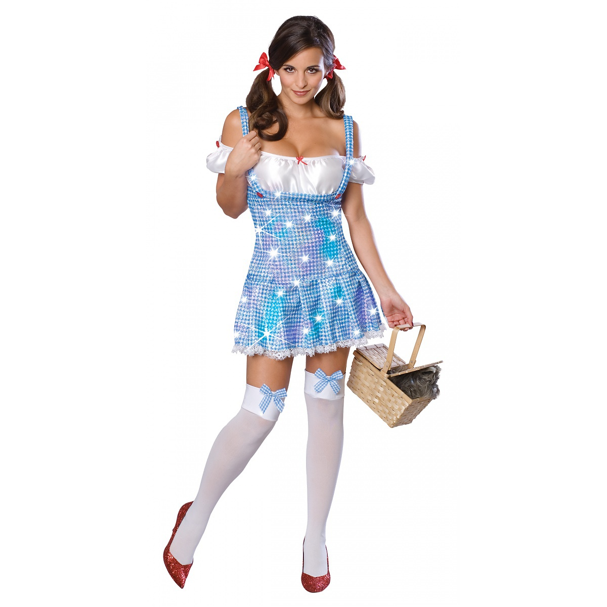 Rubie's Costume Co Dorothy Wizard of Oz Adult Womens Sexy Sequin Dress Halloween Costume at Sears.com