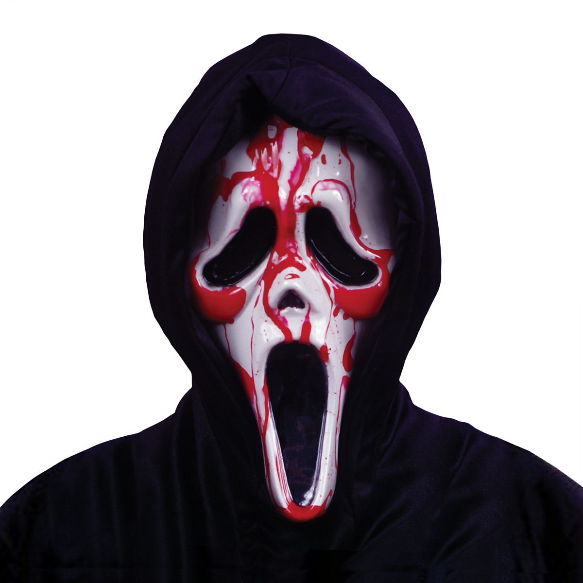 Fun World Costumes Ghost Face Bleeding Costume Mask Scream Adult Mens Scary Horror Movie Halloween at Sears.com