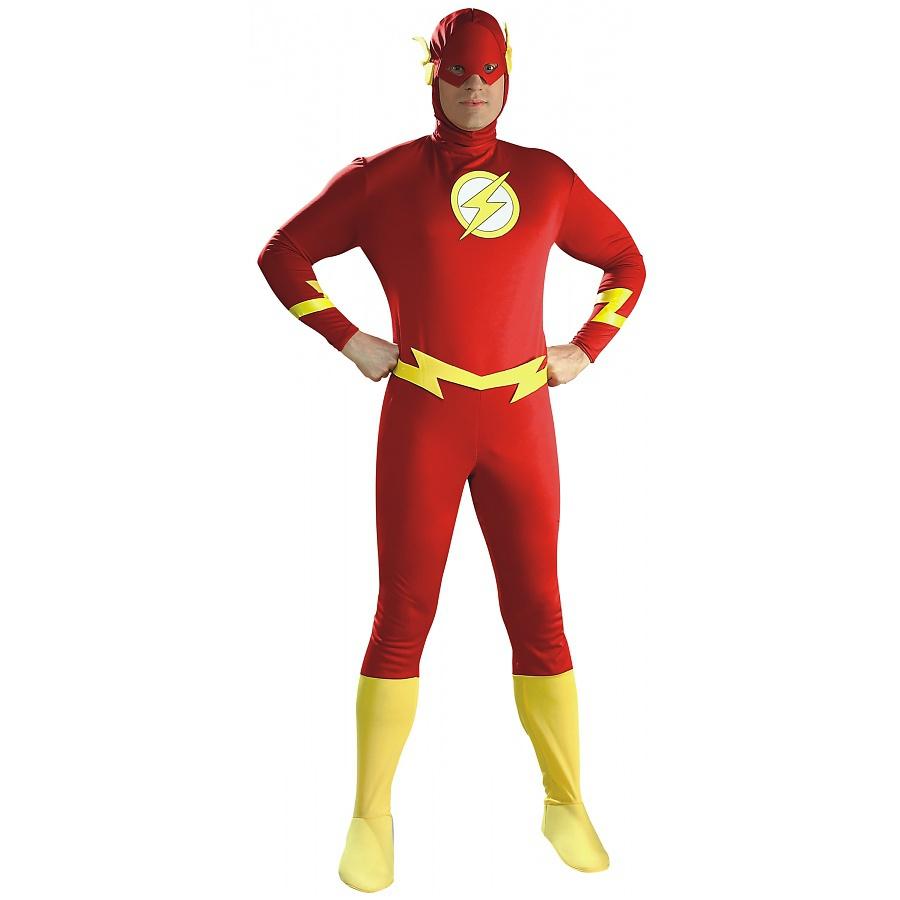 The flash costume adult justice league superhero halloween - Dessin costume ...