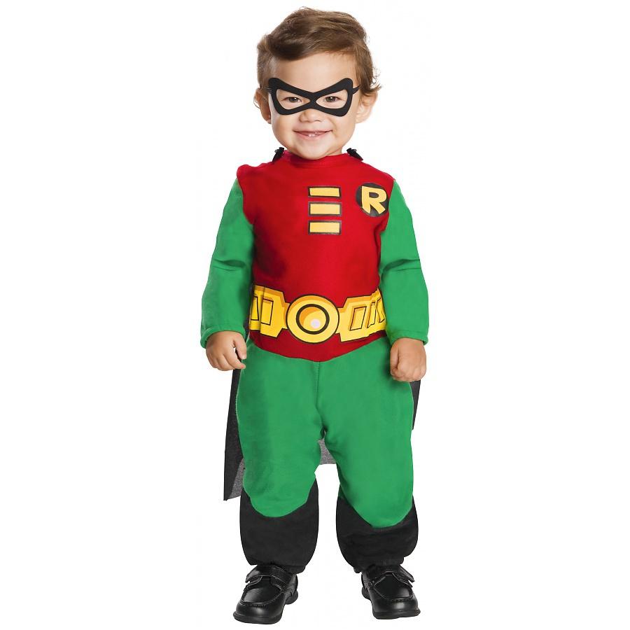 Robin Costume Infant Baby Toddler Boys Superhero Halloween